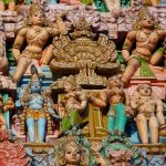 temple-figures-temple-colorful-vishnu